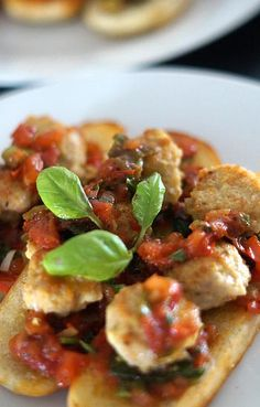 kokkengeir | Tomat Bruscetta med Parmesanboller.