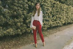 Get this look: http://lb.nu/look/8010728  More looks by Tricia Gosingtian: http://lb.nu/tgosingtian  Items in this look:  Mango Top, Mango Pants, The Sm Store Clutch, The Sm Store Shoes   #casual #chic #classic