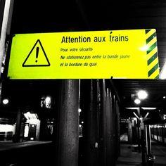 Danger #atribeadayapril #danger #warning #train #station@din0u- #webstagram