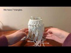 Tutorial para hacer búho de macramé (PARTE 2) - YouTube