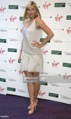 News Photo : Maria Sharapova attends Sir Richard Branson's. Maria Sharapova Hot, Sharapova Tennis, Maria Sarapova, Ana Ivanovic, Tennis Players Female, Eva Marie, Richard Branson, Nice Legs, Winter Olympics