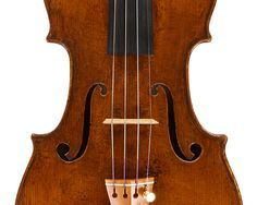 Violino | ascribed to and probably by Augustino De Planis | Geova | 1780