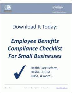 Download: Employee Benefits Compliance Checklist for Small Businesses