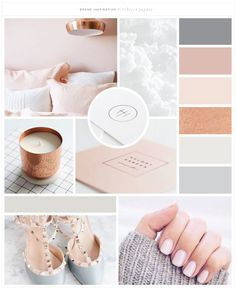 Brand Launch: Rebecca Jaynes - Salted Ink Design Co. - Rebecca Jaynes Beauty Salon Brand Design by Salted Ink Mood Board Inspiration, Color Inspiration, Brand Inspiration, Salon Interior Design, Salon Design, Mood Board Interior, Design Websites, Colour Board, Colour Schemes