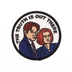 X-Files The Truth is Out There Glow in the Dark Patch