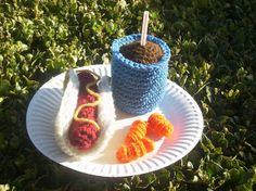 1000+ images about Crochet Patterns for Food on Pinterest ...