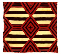 Mantle, United States, Navajo, 1870's. Wool.
