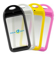 AquaBox waterproof protection for the iPhone (and others).