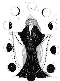 """neskatohime-illustration: """"Happy New Year guys! Thank you for your support! """" neskatohime-illustration: """"Happy New Year guys! Thank you for your support! Art Inspo, Kunst Inspo, Inspiration Art, Art And Illustration, Ink Illustrations, Witch Art, Witch Aesthetic, Book Of Shadows, Oeuvre D'art"""