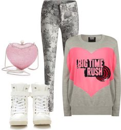 """BTR B-MiNE"" by bigtime89 on Polyvore"