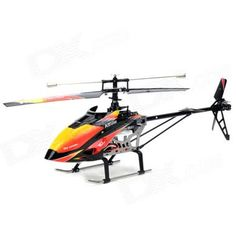 WLtoys V913 AC Rechargeable 4-CH Gyro R/C Helicopter w/ Radio Remote Controller - Orange + Black  1 x RC helicopter 1 x Controller 1 x EU plug charger (100~240V 150cm) 1 x Tail blade 1 x Main blade 1 x Power adapter