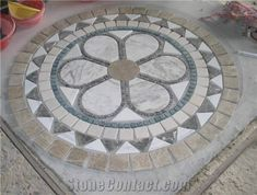 Marble Mosaic Medallion from China-53036 - StoneContact.com