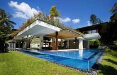 Love the pool, but it alone probably costs more than a nice house.  Maybe when I win the lottery???