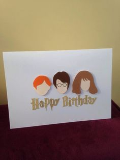 Handmade Birthday Card21stHarry Potter Theme DIY Crafts