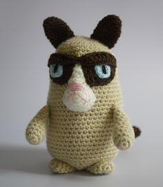Grumpy Cat Amigurumi.