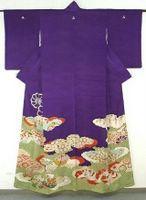 Vintage purple kimono - Berber Oostenbrug  Portretten   Glamour Portfolio   Sprookjes & Fantasieën   Vrij Werk   Kimono Styling