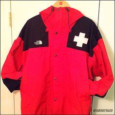 Vintage NorthFace Jacket. Circa 1990 Made In USA Ski Patrol