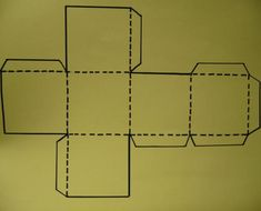 Cómo hacer un dado de cartulina - 8 pasos (con imágenes)