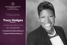 BERKSHIRE HATHAWAY HOMESERVICES FLORIDA NETWORK REALTY WELCOMES TRACY HODGES