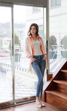 Asian Fashion, Girl Fashion, Normcore, Girl Outfits, Fashion Outfits, Sexy Jeans, Stylish Outfits, Beautiful Outfits, Clothes