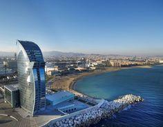 """Hotel """"W Barcelona"""", en España"""