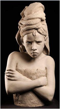 Faro, Philip - Denial (Clay Sculpture), 2008