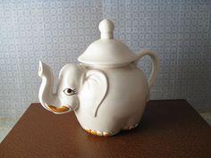 Elephant Teapot by autumnalways
