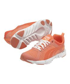 Take a look at this Fluo Peach Formlite XT Ultra Fluo Cross-Training Shoe - Women by PUMA on #zulily today!
