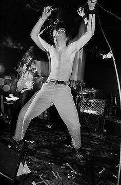 "Soulcatcher Studio: Charles Peterson | Charles Peterson ""Soundgarden, Berkeley, CA, 1989"""