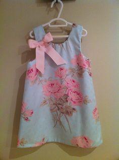 Girls dress Royal Little Darling, via Etsy