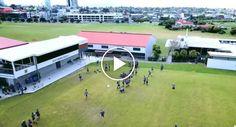 Jovem Desportista Derruba Drone Com Bola De Futebol