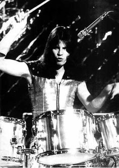 "My First Drum Idol. Mick Tucker of ""SWEET"""