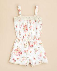 AQUA Girls' Floral Print Scuba Skirt - Sizes S-XL   Bloomingdales's