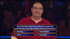 """Monday, contestant Ron Colonna gets #RedWhiteandBlue when he sees this question on an all-new #MillionaireTV. But will he have the correct #FinalAnswer? Don't miss Monday's """"Millionaire"""" with host Chris Harrison and find out. Go to www.millionairetv.com for time and channel to watch."""