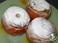 Печеные яблоки с черносливом, медом и орехами ингредиенты
