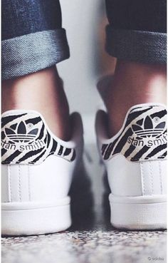 The pattern on these stan Smith's is insane!