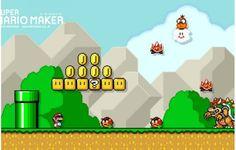 Notícia: Site da Nintendo permite criar planos de fundo de Super Mario