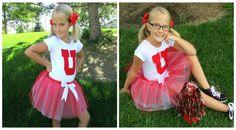 Day 7 Cheerleader DIY Halloween Costume Tutorial Cheap Easy