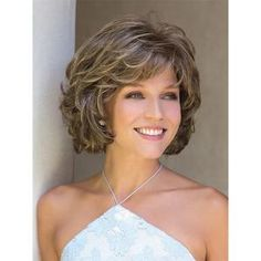 Curly Bob Hairstyles, Short Curly Hair, Hairstyles With Bangs, Wavy Hair, Braid Hairstyles, Short Wavy, Curly Wigs, Teenage Hairstyles, Trendy Haircuts
