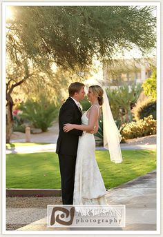 Intimate moment captured on the grounds of JW Marriott Camelback Inn  Resort & Spa. Credit: Artisan Photography
