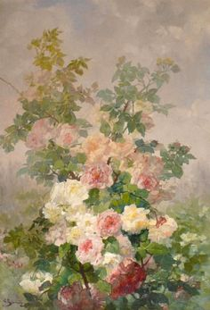 Georges Jeannin  Study of Roses  Late 19th century