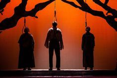 Image result for the crucible at henderson state university I like this. What if we had a green toxic smoke or lighting. Afterall, this is post BIG BOOM. The air is thick with toxins.