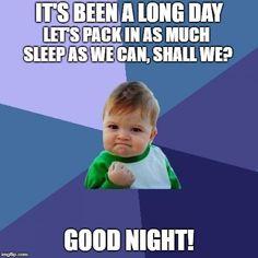47 best funny goodnight