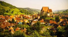 Check out #Biertan #Village, one of the beautifuly #preserved #medieval villages in #Transylvania