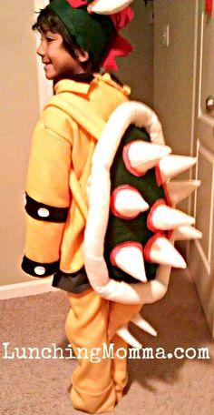 Bowser DIY Homemade halloween costume