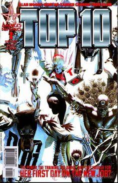 TOP 10, SERIE COMPLETA DE 12 NÚMEROS, ABC-DC COMICS, 1.999. USA