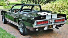 Simply Beautiful! Sweet 1967 Ford #Mustang Convertible Shelby.