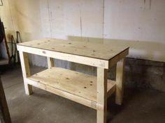 Workbench for garage
