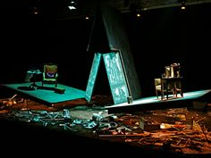 The Small Things. Scenic design by Mayou Trikerioti. 2006