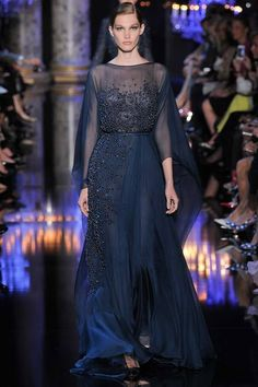 Elie Saab Fall 2014 Couture - Worn by Afef Jnifen at the 'amfAR Cinema Against AIDS Gala' during the 2016 Cannes Film Festival